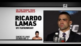 UFC Fight Night Monterrey: Ricardo Lamas on Diego Sanchez' FW Debut, Aldo vs. McGregor
