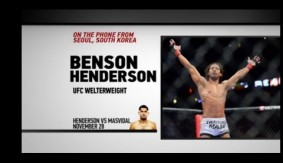 "UFC Fight Night Seoul: Benson Henderson – ""It Was A Dream of Mine to Help Bring UFC to Korea"""