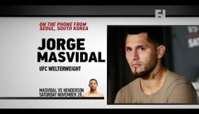 """UFC Fight Night Seoul: Jorge Masvidal – """"Just Lock That Cage and See Who Comes Out Alive"""""""