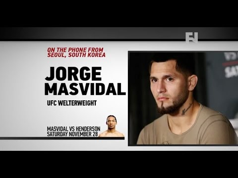 "UFC Fight Night Seoul: Jorge Masvidal – ""Just Lock That Cage and See Who Comes Out Alive"""