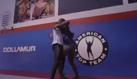 Video – Daniel Straus & Will Brooks at American Top Team