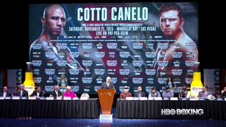 Video – HBO PPV: Cotto vs. Canelo Final Press Conference Highlights