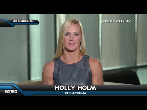 Video – Holly Holm Discusses Her Crushing Defeat of Ronda Rousey on AXS TV's 'Inside MMA'