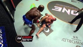 Video – ONE: Pride of Lions – Alain Ngalani Finishes Igor Subora