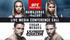 Video Replay – UFC Fight Night Las Vegas, TUF 22 Finale Media Conference Call