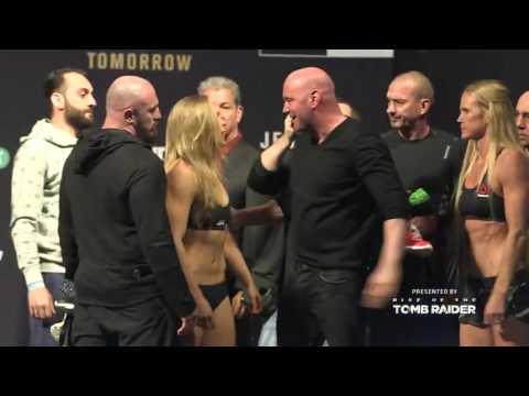 Video – UFC 193: Weigh-in Recap
