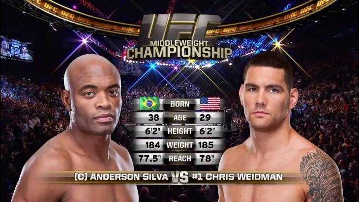 Video – UFC 194 Free Fight: Chris Weidman vs. Anderson Silva 1