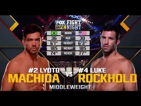 Video – UFC 194 Free Fight: Luke Rockhold vs. Lyoto Machida