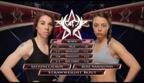 Video – UFC Fight Night Las Vegas Free Fight: Rose Namajunas vs. Kathina Catron