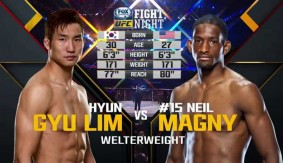 Video – UFC Fight Night Monterrey Free Fight: Neil Magny vs. Hyun Gyu Lim