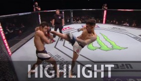 Video – UFC Fight Night Monterrey: Andre Fili Finishes Gabriel Benitez