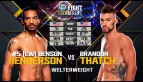 Video – UFC Fight Night Seoul Free Fight: Benson Henderson vs. Brandon Thatch