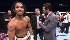 Video – UFC Fight Night Seoul: Henderson, Masvidal Post-Fight Octagon Interviews