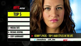 Video – UFC Now: Top 5 Hair Styles
