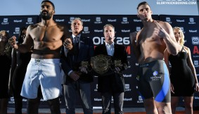 GLORY 26 Amsterdam & SuperFight Series Weigh-in Results & Photos