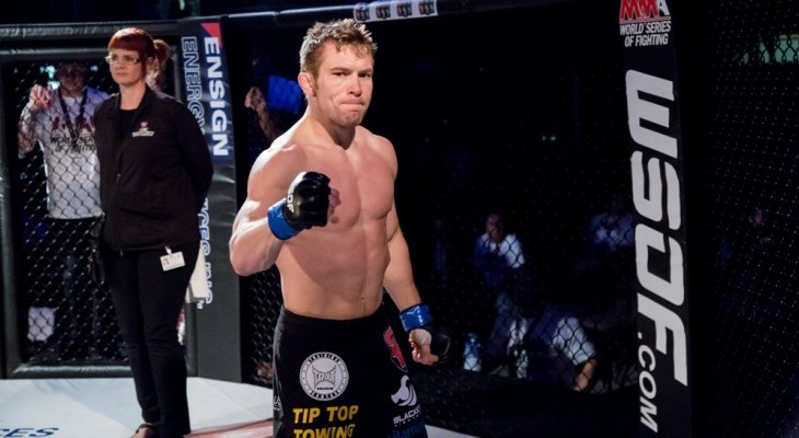 WSOF 32 Live on Fight Network – Josh Hill's Coming of Age