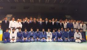 IJF President Holds Talks in North Korea for 2017 Junior World Championship Bid