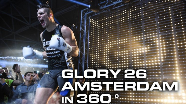 Video – GLORY 26 Amsterdam in 360 Degrees