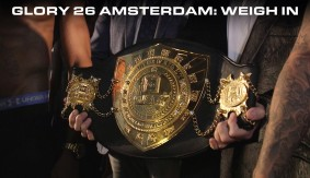 Video – GLORY 26 Amsterdam Weigh-in Highlights