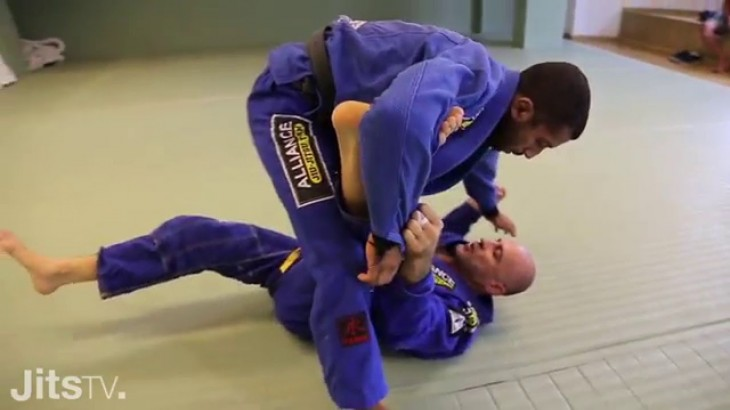 Video – Jits Magazine: Armbar from X-Guard Sweep with Gigi Paiva