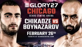 Chikadze vs. Boynazarov Announced as GLORY 27 Chicago Co-Main Event