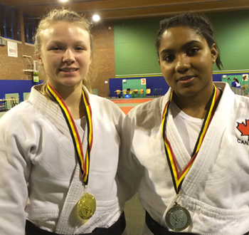 Judo Canada: Perfect Run for Jessica Klimkait
