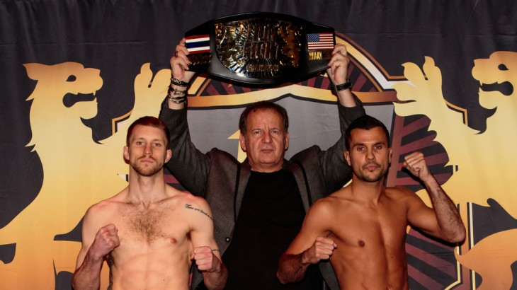 Lion Fight 27 Weigh-in Results & Photos