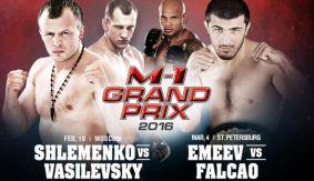 Ramazan Emeev vs. Maiquel Falcao Set for M-1 Challenge 65 Grand Prix Eliminator