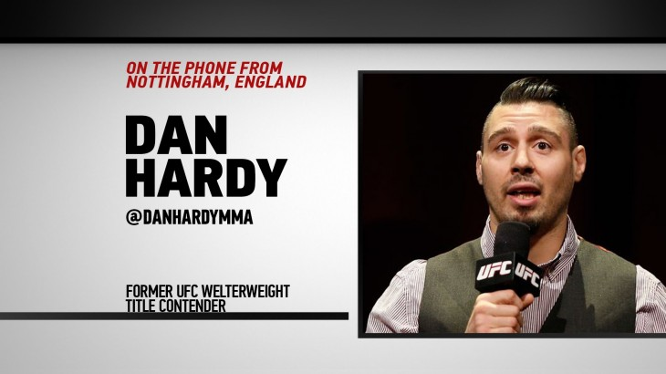 The Black Eye Podcast: Dan Hardy on Evolution of MMA