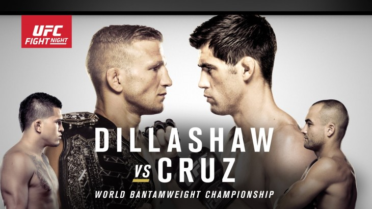 UFC Fight Night Boston Preview: Dillashaw vs. Cruz on Newsmakers
