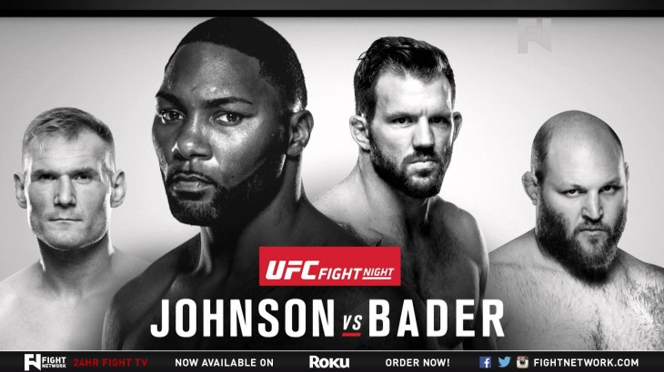 UFC Fight Night New Jersey: Johnson-Bader, Barnett-Rothwell Preview