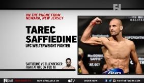 "UFC Fight Night New Jersey: Tarec Saffiedine – ""100% Focused on Myself"""