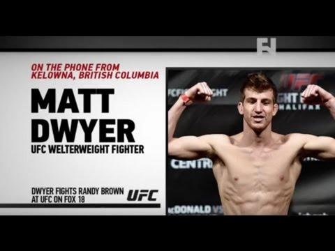 "UFC Fight Night Newark: Matt Dwyer on Randy Brown – ""I'm Taking Him Very Serious"""