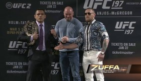 Video – UFC 197: Press Conference Face-Offs