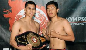 Thompson Boxing: Roman vs. Robles Weigh-in Results & Photos