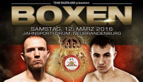 Brahmer to Defend WBA World Title Against Gutknecht on March 12