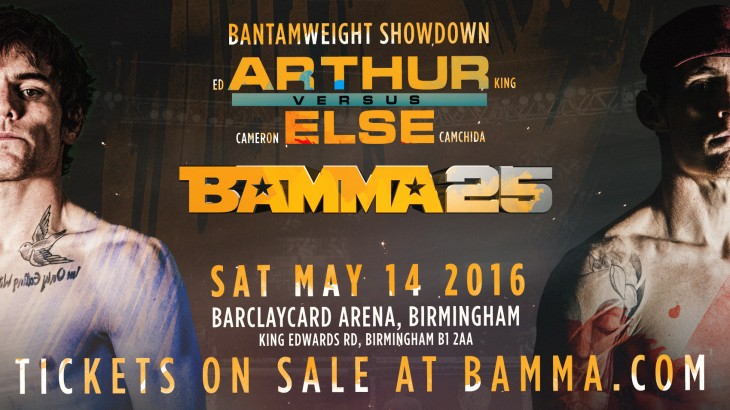 Arthur & Else ON Collision Course at BAMMA 25