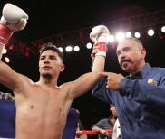 Full Report & Photos – Golden Boy: Caballero Scores Knockout Over Ruben Garcia