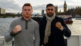 Boxing_PressTour_CaneloAlvarez_AmirKhan_London_2016_022816