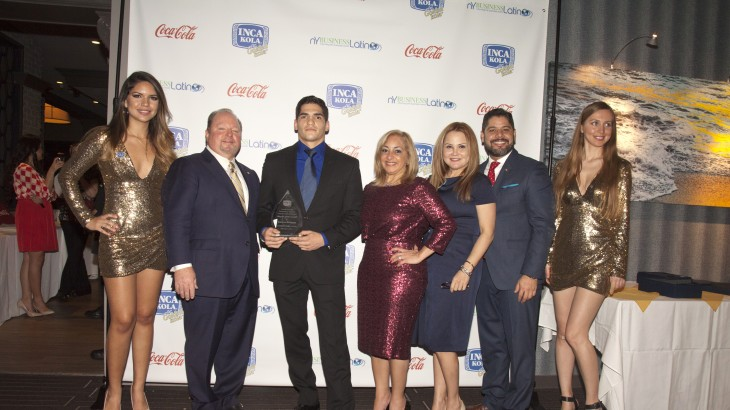 Lion Fight's Gaston Bolanos Named Hispanic Athlete of the Year by Inca Cola