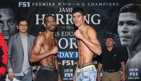 PBC on FS1: Herring vs. Flores Weigh-in Results & Photos
