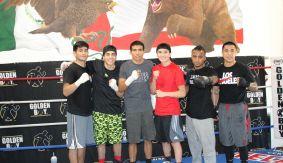 LA Fight Club: De La Hoya-Badillo, Gonzalez-Rodela Media Workout Quotes & Photos