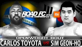 Carlos Toyota Returns Against Sim Geon Oh at ROAD FC 029 on March 19