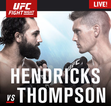 Fight Network Presents UFC Fight Night: Hendricks vs. Thompson Pre-Show, Live Prelims on Feb. 6