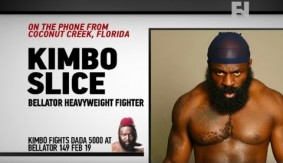 "Bellator 149: Kimbo Slice on Dada 5000 – ""I Don't Like Him, I Want to Hurt Him"""