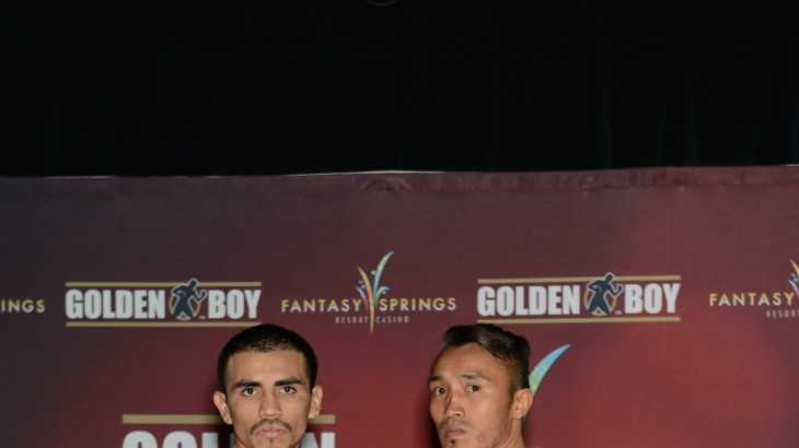 Golden Boy Live: Caballero vs. Garcia Official Weigh-in Results