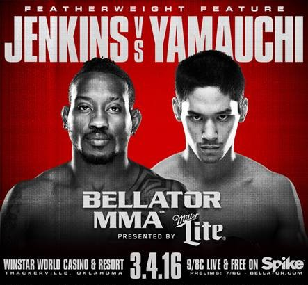 Bellator 151 Adds Bubba Jenkins vs. Goiti Yamauchi on March 4