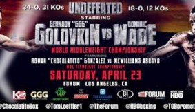 Chocolatito vs. Arroyo WBC Fly Title Bout Added to Golovkin-Wade on April 23