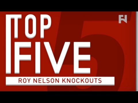 "Top 5 – Roy ""Big Country"" Nelson Knockouts"