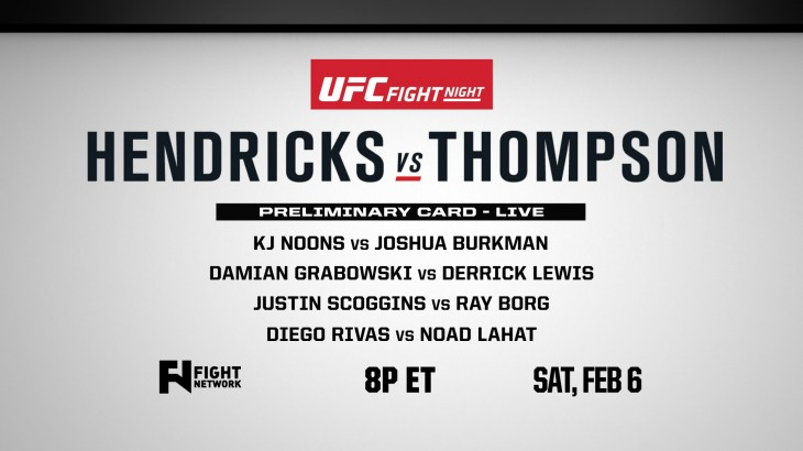 UFC Fight Night Las Vegas: Borg-Scoggins & Burkman-Noons Preview on Fight News Now